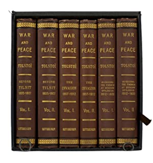 War and Peace A Historical Novel. Translated: TOLSTOY, Leo