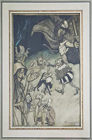 Witches and Warlocks, Ghosts, Goblins and Ghouls: RACKHAM, Arthur