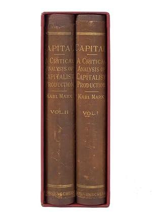 Capital: A Critical Anaysis of Capitalist Production: MARX, Karl