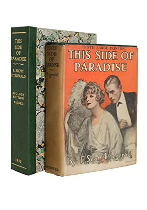 This Side of Paradise: FITZGERALD, F. Scott