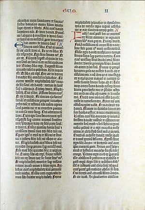 Biblia Latina] Kings II A Noble Fragment.: BIBLE IN LATIN