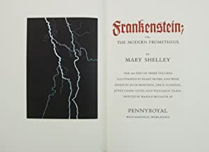 Frankenstein; or, The Modern Prometheus: SHELLEY, Mary Wollstonecraft