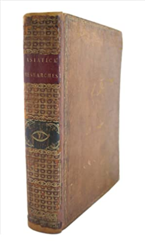 Asiatick researches or transactions of the Society,: JONES, William
