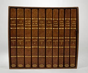Five First Editions Including: The Pioneers, or: COOPER, James Fenimore
