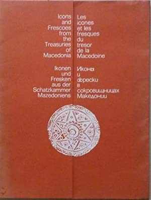 Icons and Frescoes from the Treasuries of: Grozdanov, Cvetan (text)