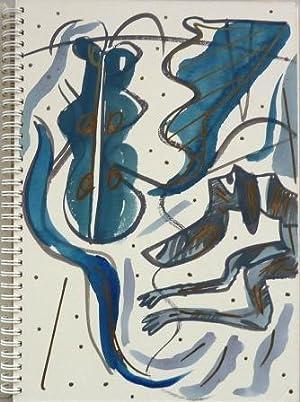 Schetsboek 1979 - 1986 (kunstenaarsboek): Slot, John van