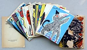 Artistes Libres Bibliotheque de Cobra, Redacteur Asger: Cobra; Alechinsky, Karel