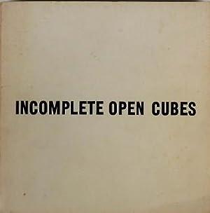 Incomplete open cubes. The John Weber Gallery,: Lewitt, Sol