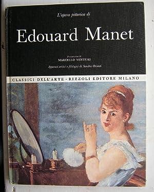 L'opera pittorica di Edouard Manet [Hardcover] [Jan: MANET - Venturini