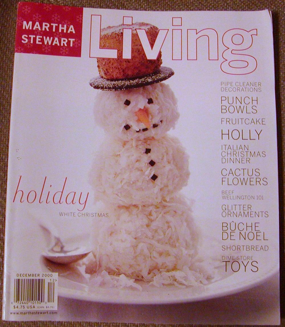 Martha Stewart Living December 2000