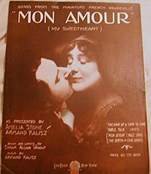 Mon Amour: Edgar Allan Woolf and Armand Kalisz