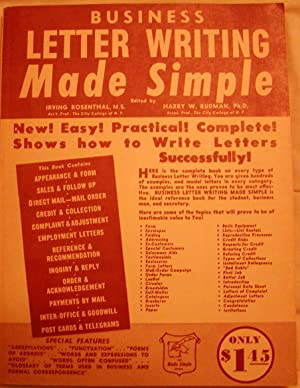 Business Letter Writing Made Simple