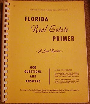 Florida Real Estate Primer
