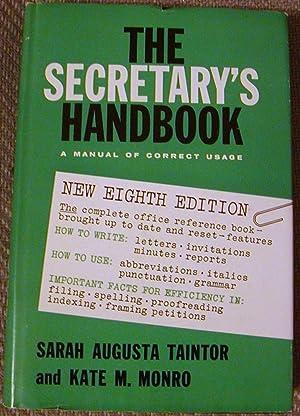 The Secretary's Handbook: Sarah Augusta Taintor