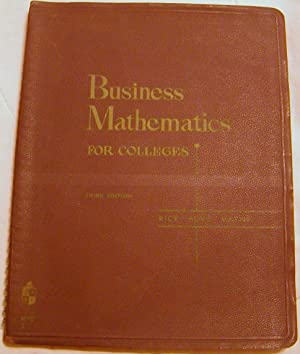 Business Mathematics for Colleges
