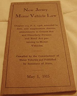 New Jersey Motor Vehicle Law