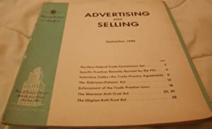 Advertising and Selling