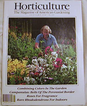 Horticulture The Magazine of American Gardening January 1987