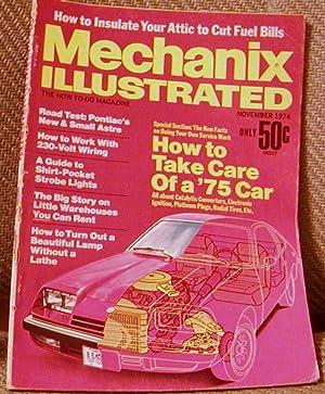 Mechanix Illustrated November 1974