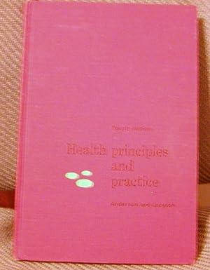 Health Principles and Practice: C.L.Anderson & C.V.Langton