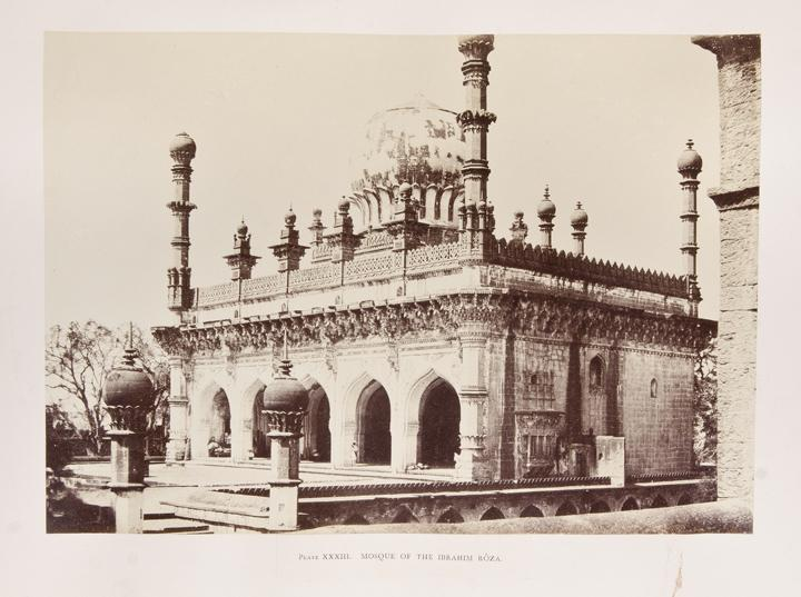 Architecture at Beejapoor, an Ancient Mahometan Capital in the Bombay Presidency, Photographed from...