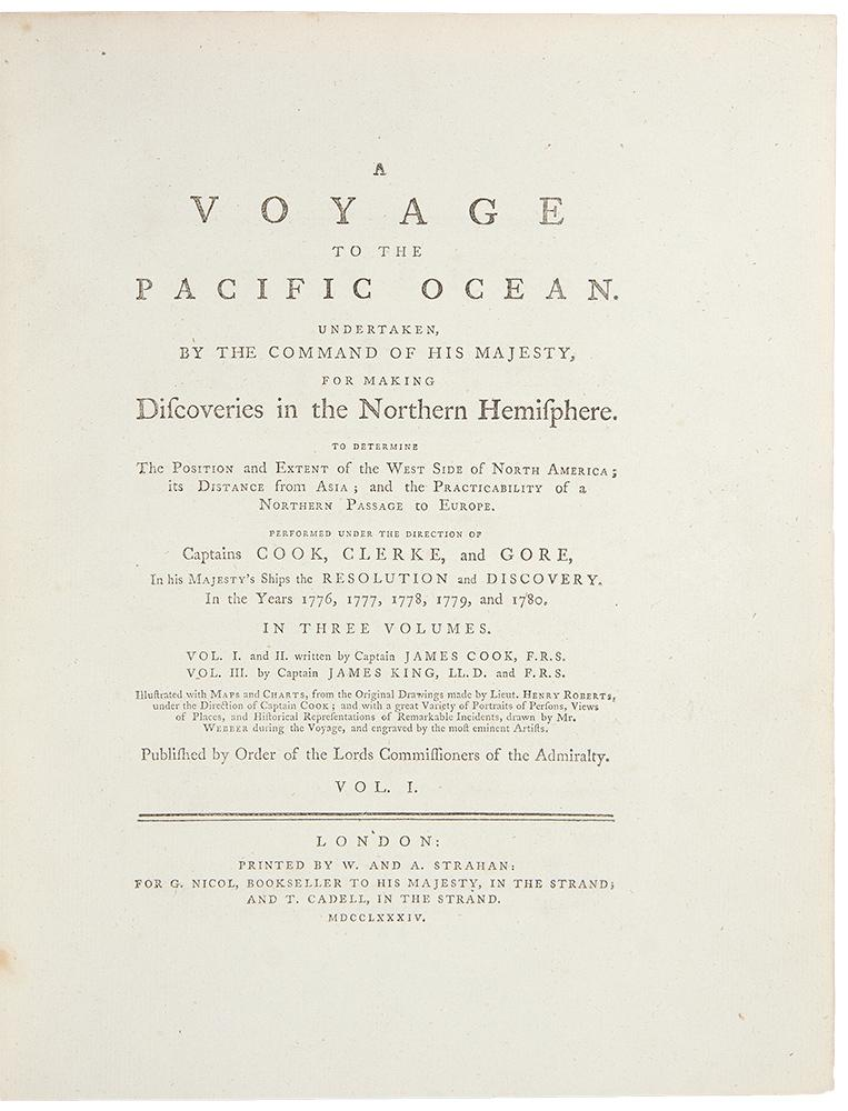A Voyage to the Pacific Ocean, for making Discoveries in the Northern Hemisphere. Performed under ...