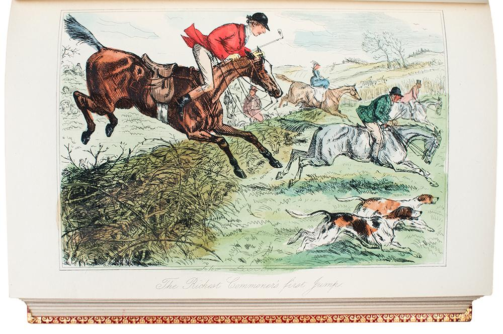 [Group of 5 uniformly-bound works, comprising:] Handley Cross; Hawbuck Grange; Ask Mamma; Mr. ...