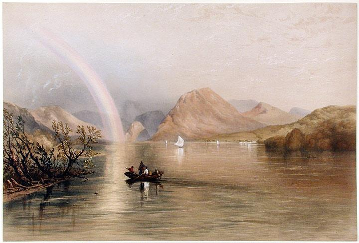 Lowes Water: PYNE, James Baker (1800-1870) lithographed by W. GAUCI
