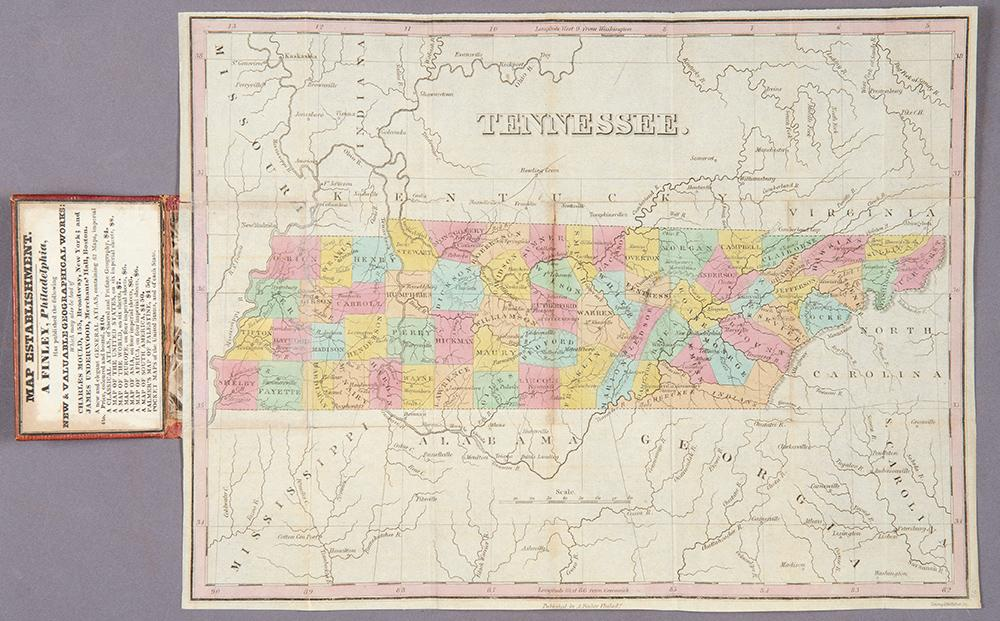 Tennessee: FINLEY, Anthony (c.1790-1840)