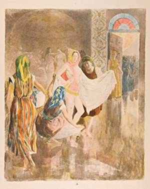 Le Bain de la Mariée Juive [The Bath of the Jewish Bride]: LUNOIS, Alexandre (1863-1916)