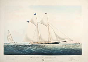 "The Yacht ""Maria"" 216 Tons: Modelled by: CURRIER & IVES,"