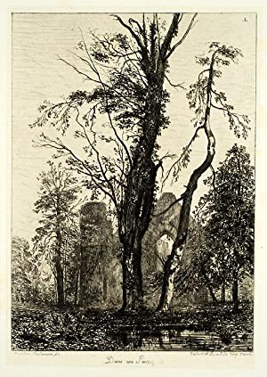 An important collection of twenty five original etchings, including works from two separate series ...