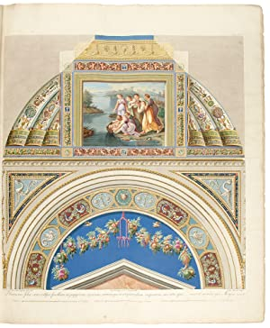 Seconde Parte delle Logge di Rafaele nel Vaticano che contiene XIII. Volte ed i loro respettivi ...