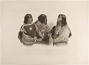 Chief of the Blood-Indians. War-Chief of the Piekann Indians. Koutani Indian