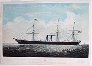 "The Royal Mail Steam Ship ""Australasian"" 3100: CURRIER & IVES,"
