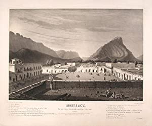 Monterey, As seen from a house-top in the main Plaza, [to the west.] October, 1846. [No. 1 of a ...