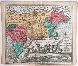Recens Edita totius Novi Belgii, in America: LOTTER, Tobias Conrad