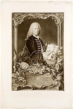 Christophorus Jacobus Trew: TREW, Christoph Jakob (1695-1769) . - Johann Jacob HAID (1704-1767)