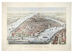 The City of New York: CURRIER & IVES