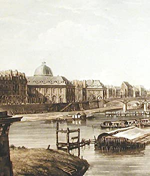 Paris, taken from the Pont-Neuf: PUGIN, Augustus Charles (1762-1832)