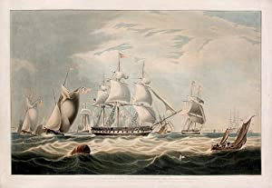 The Right Honourable Lord Yarborough's yacht, The Falcon of 351 tons: HUGGINS, After William ...