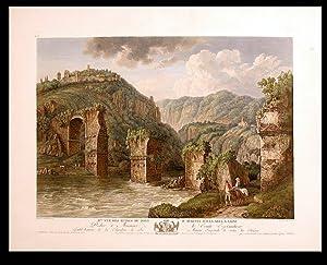 Vue des Ruines du Pont d'Auguste sur la Nera a Narni: HACKERT, After Jakob Philipp (1737-1807)