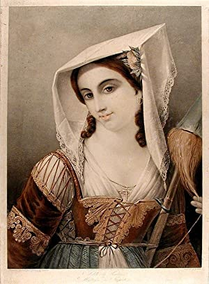 Adéle la Venitiene, Maitresse du Tintoreto: GOUBAUD, After Innocent Louis (1780-1847)