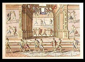 Plate from 'Academie de l'Espee': THIBAULT, Girard - Egbert van PANDEREN (d.1637)