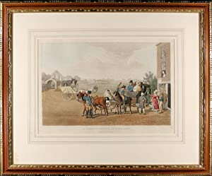 A Paris Diligence and Cabriolet: HAVELL, Robert I (1769-1832) (publisher)