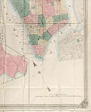 Map of New York City and County: COLTON, George W. (1827-1901) & Charles B. (1832-1916)