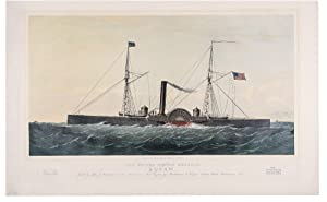 "The United States Gunboat ""Eutaw"". Built by John J. Abrahams & Son Baltimore, Md. ..."