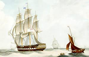 H.C.S. Macqueen off the Start, 26th. January 1832: HUGGINS, After William John (1781-1845)