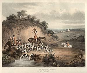 Set of Four] Hunting. Plate I. Going: WOLSTENHOLME, After Dean,