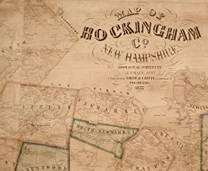 Map of Rockingham Co. New Hampshire from Practical Surveys.: CHACE, J.
